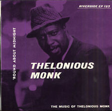 Thelonious MONK Round about midnight US EP 45 RIVERSIDE 123