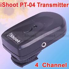 Single Transmitter for iShoot PT-04 Wireless Radio Remote Control Flash Trigger