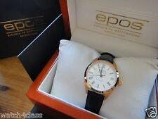 Genuine EPOS 4411.131 (Switzerland) Lady's Women's automatic Watch white & gold