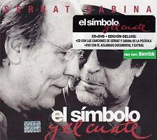 Serrat y Sabina El Simbolo y el Cuate CD+DVD Edicion Deluxe Caja de Carton New