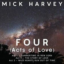 MICK HARVEY Four (Acts of Love) [Digipak] (CD, Sep-2013, Mute)