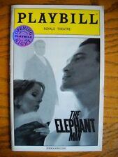 Silver Seal Opening Nite Playbill The Elephant Man Billy Crudup Kate Burton 2002
