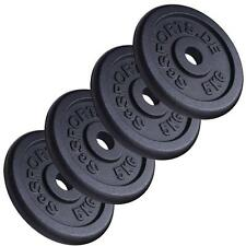 ScSPORTS® 20 kg Hantelscheiben Set Guss 4 x 5 kg Hantel Gewichte 30 mm 2. Wahl