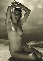 Original Vintage Female Nude Everard Photo Gravure Print 40s18