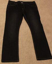 Levi's Skinny Premium Stretch Denim Sz 14 1/2 Plus adjustable inside waistband