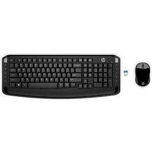 HP Wireless Keyboard and Mouse 300, Black,,3ML04AA#ABL