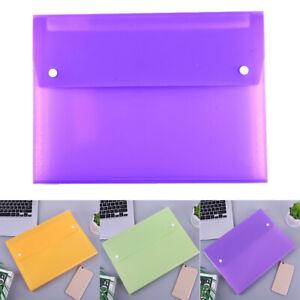 Test Paper Organizer Storage Bags Portable Buckle Up Document Envelope Handbags