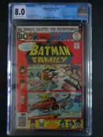 CGC Comic graded 8.0 Batman Family DC  #6 cover Key 1st app jokers daughter