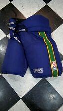 Vintage CCM SUPRA Mighty Ducks movie worn pro stock hockey pants small RARE!