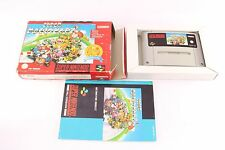 Snes Super Nintendo Mario Kart Complete Pal Game VG Cond Red Box (light damage)