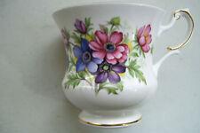 Vintage Special Flowers Tea Cup No Saucer - Rosina Fine Bone China - England
