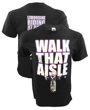 WWE Walk That Aisle Rick Flair Black T-Shirt, Limousine Riding, Jet Flying