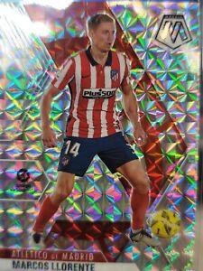 2020-21 Panini Mosaic LaLiga Soccer Marcos Llorente Silver Mosaic!