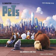 PETS - HÖRBUCH ZUM FILM - 2 CD NEU/OVP