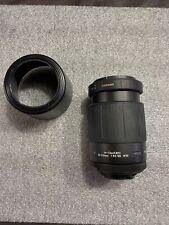Tamron AF 80-210mm 1:4.5-5.6 Lens for Nikon With Hood And Bag