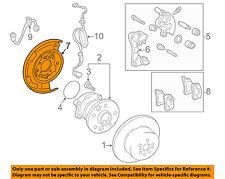 TOYOTA OEM Rear Brake-Backing Plate Splash Dust Shield 4650420010