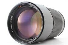 EXCELLENT CAR ZEISS SONNAR 180mm f2.8 MMJ C/Y MF Lens