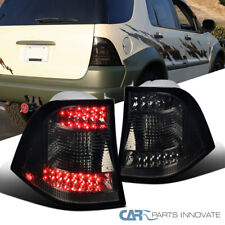 For 98-05 Mercedes Benz W163 M-Class Smoke Lens LED Tail Lights Rear Brake Lamps