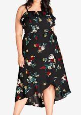City Chic SML 16 Flowerette Maxi Dress ()