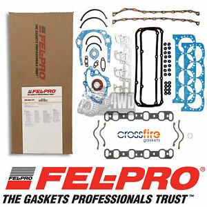 Felpro Full Gasket Set for Ford 302-351 Cleveland 2V AFS8347PT + Crossfire Inlet