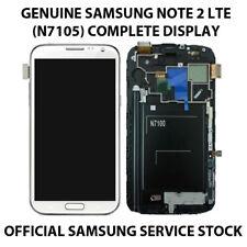 SAMSUNG GALAXY NOTE 2 LTE WHITE N7105 100% GENUINE ORIGINAL LCD DIGITIZER SCREEN