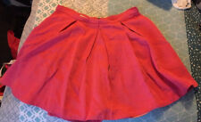 Witchery Coral Skirt Size 12 (a1)