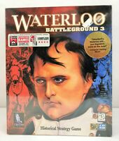 Battleground 3: Waterloo (PC, 1996) Vintage Big Box PC Game NEW SEALED