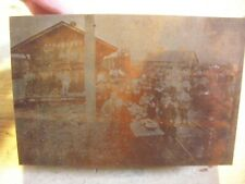 W H Hoopes Watermelon Sampling Fruitland Historic Iowa Printing Press Block
