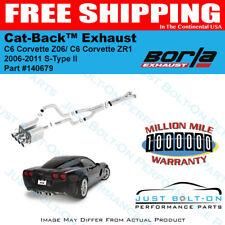 Borla S-Type Catback 2006-2011 Corvette Z06/ZR1 C6 7.0L/6.2L 140679