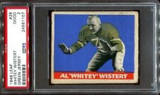 1948 Leaf #28 Al Wistert RC green jersey PSA 2 Philadelphia Eagles
