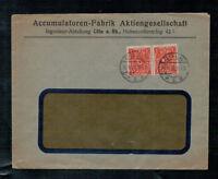 Deutsches Reich, Infla Firmenbeleg MiNr. 192 MeF Cöln | Köln 20.10.1922