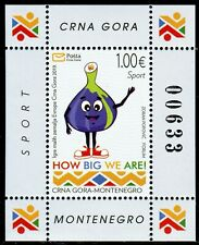312 MONTENEGRO 2019 - Games of the Small States of Europe - MNH Souvenir Sheet