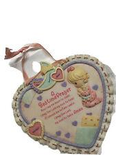 Baby Girl Gift: Precious moments prayer Plaque -euc