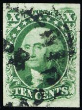 15, Used Superb 10¢ With Four Large Margins All Around A GEM - Stuart Katz