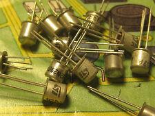 2N2907A  PNP  TRANSISTOR 60V 0.6A 0.4W  200Mhz  TO18  PH.       .10pcs