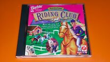 BARBIE ADVENTURE RIDING CLUB Video Game CD-ROM Windows 95 PC Software For Girls