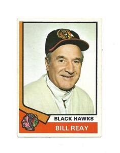 1974-75 OPC:#204 Billy Reay,Black Hawks