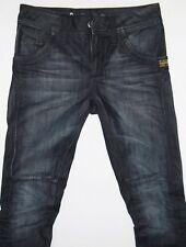 "G-Star RAW 3301 Jack Pant WMN Slim Straight Navy Womens Jean's Size 26 Waist 16"""