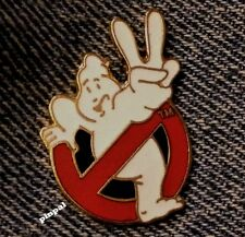 GhostBusters II 2 Logo Pin~1989 Columbia Pictures~Movie~Cloisonne by Peter David