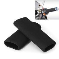 2Pcs Motorcycle Foam Anti Vibration Comfort Handlebar Grip Cover for BMW Honda