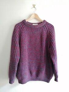 Fishermans jumper Size L 100 %wool