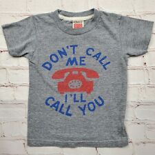 DONT CALL ME ILL CALL YOU T Shirt Youth Small 2 Homage Nice Soft Boys