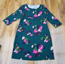 Boden Ladies GORGEOUS Alda Dress Green Floral. W0019 UK size 12L. Brand new