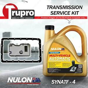 SYNATF Transmission Oil + Filter Kit for Toyota Hilux RZN 149 154 Supra Surf