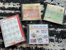 Dakota Collectibles Embroidery Designs Gunold Letters Teapot Designs 4 Cd Lot