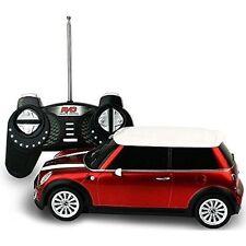 SATZUMA Remote Control Mini Cooper With Light Up Headlights & Tail Lights