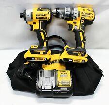 DeWalt DCK283D2 XR 20V MAX LI-ION Cordless Brushless 2-Tool Kit Drill/Impact
