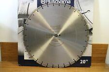 "Husqvarna 20"" High Pro AOL Asphalt Overlay Over Concrete Diamond Saw Blade"