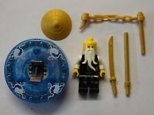 Lego Ninjago - Minifig - Sensei-Wu avec Toupie - NJO026 - Set 2255