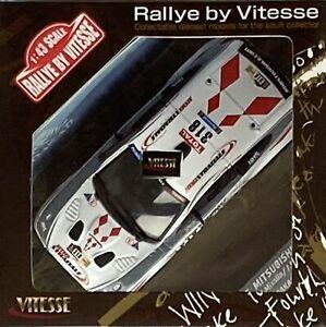 1/43 Vitesse 43436 L/E Mitsubishi Lancer 2010 Dakar Rally #318 Misslin & Polato